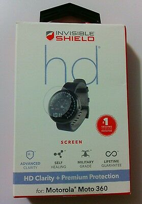 ZAGG Invisible Shield Screen Protector-Motorola Moto360- New