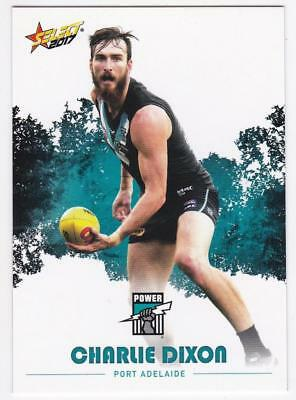2017 AFL Select Common Card - Port Adelaide - Charlie Dixon