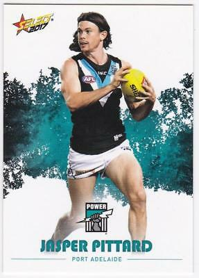 2017 AFL Select Common Card - Port Adelaide - Jasper Pittard