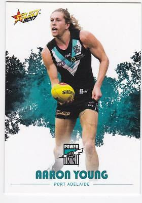 2017 AFL Select Common Card - Port Adelaide - Aaron Young