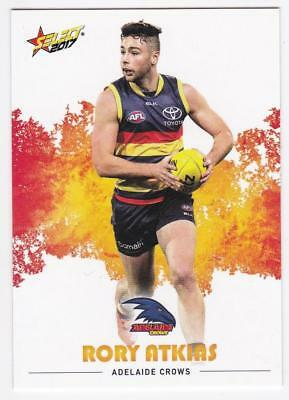 2017 AFL Select Common Card - Adelaide - Rory Atkins