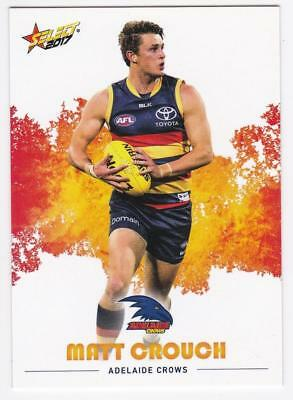 2017 AFL Select Common Card - Adelaide - Matt Crouch