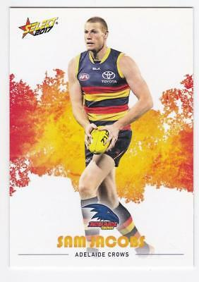 2017 AFL Select Common Card - Adelaide - Sam Jacobs