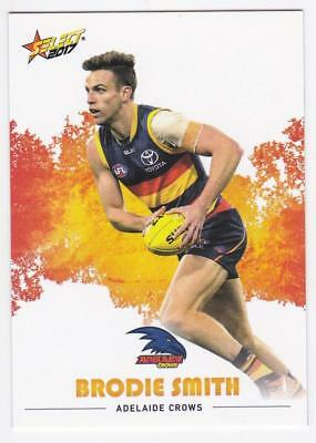 2017 AFL Select Common Card - Adelaide - Brodie Smith