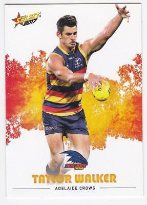 2017 AFL Select Common Card - Adelaide - Taylor Walker