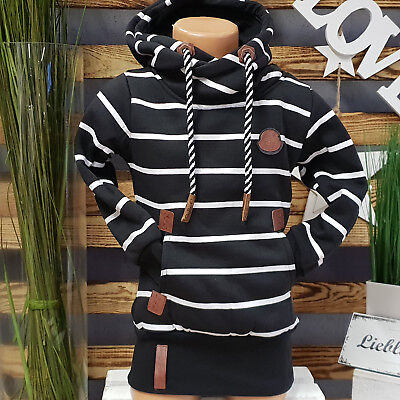 Squared & Cubed  Hoodie **just Different** Kapuzen Pullover Schwarz Ton Rs-004