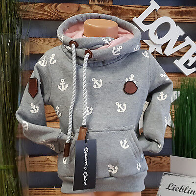 Squared & Cubed  Hoodie **just Different** Anker Pullover Grau Ton Rs-Mt-29