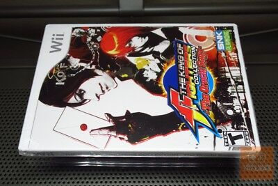 The King of Fighters Collection: Orochi Saga (Nintendo Wii 2008) FACTORY SEALED!