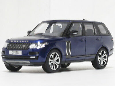 1:43 LCD Model 2017 Land Rover Range Rover Blue Limited Edition