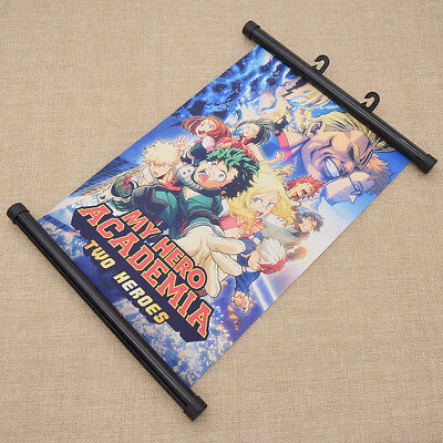 My Boku no Hero Academia Collective Character Poster Scroll Group Painting