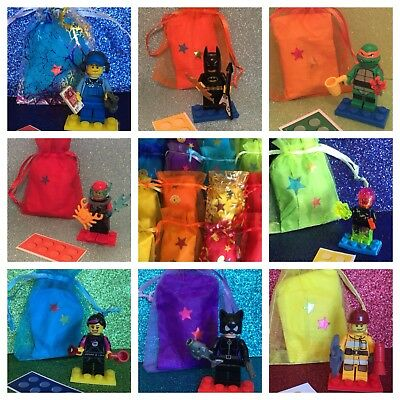 10 X LEGO World Cards , Party Bag Fillers Birthday party favours