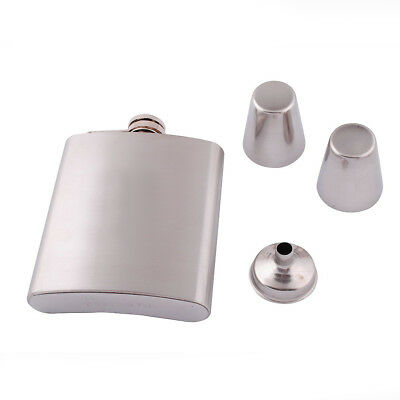 Funnel 7oz Set Drinking Whisky Custom Steel Hip Cups Whiskey Stainless Flask