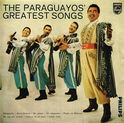 The Paraguayos' Greatest Songs (Philips – P 08309 R) 10''