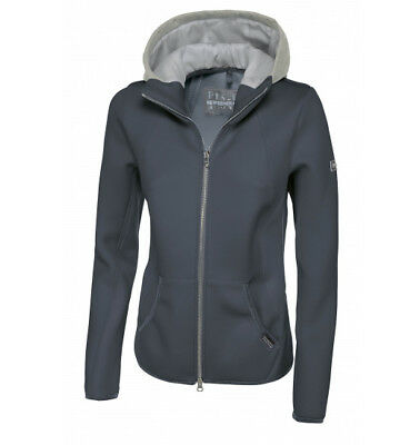 Pikeur Ladies Materialmix Gracee Jacket  Anthracite 42 (size 14)
