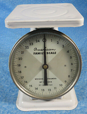Vintage American Family 25 Lb. Kitchen Scales