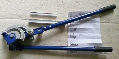 Screwfix Heavy Duty Pipe Bender, Copper & Steel Pipes, Max 90 Degree, New In Box