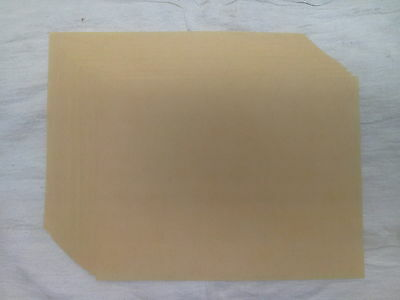 .006 Tympan Paper for Kelsey 5x8 Letterpress Platen - pack of 25 sheets - NEW