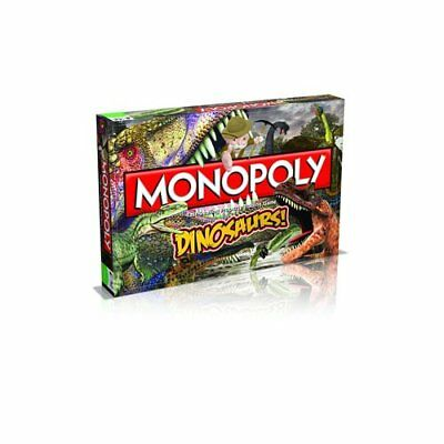 Dinosaurs Monopoly Board Game New Sealed