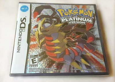 Pokemon Platinum Version (Nintendo DS, 2009) New & Sealed Y-Fold Ships from USA