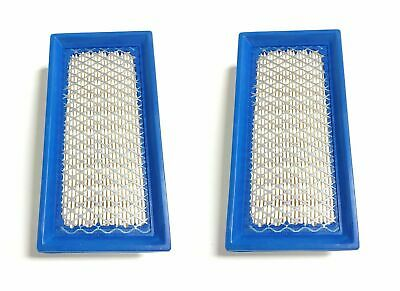 2 Air Filters Replaces Briggs & Stratton 496077, 691643 or John Deere AM34093