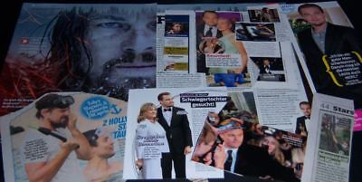 Leonardo DiCaprio shirtless older 44 pc German Clippings Full Pages