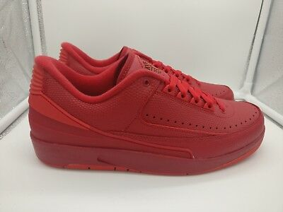 huge discount 9d59a 916e8 Nike Air Jordan 2 Retro Low UK 7.5 Gym Red University Red Turquoise 832819- 606
