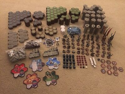 Heroscape - Master Set: Rise of the Valkyrie With Castle Expansion