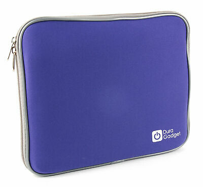 Blue Water Resistant Neoprene Case With Dual Zips For COOAU 12.5� DVD Player