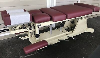 US Tables Chiropractic Bench Table w/ Dorsal/Chest, Lumbar, and Pelvic Drops