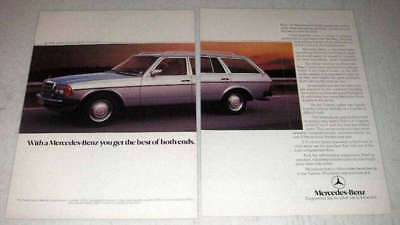 1984 Mercedes-Benz T-Series Estate Car Ad - The Best