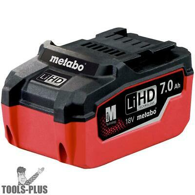 Metabo 625345000 18V 7.0 Ah LiHD Battery Pack New