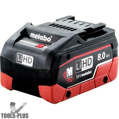 Metabo 625369000 18V 8.0 Ah LiHD Battery Pack New