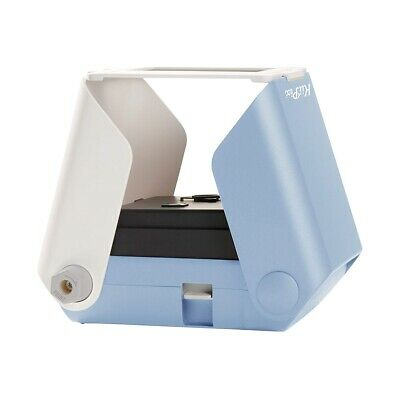 KiiPix E72752US Smartphone Instant Compact and Portable Picture Printer - Blue