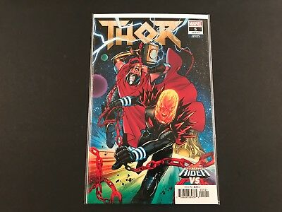 Thor #5 (2018) Cosmic Ghost Rider Variant NM Marvel Comics 1st Print