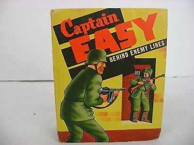 1943 Captain Easy Behind Enemy Line Roy Crane Wash Tubbs Better Little Book 1474