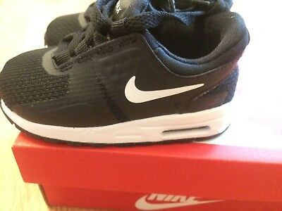 best service 5ebbf d5db8 Baby Toddler Nike Air max Trainers Size Uk 4.5 EUR 21 Black Infant
