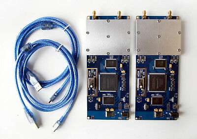 Lot of 2 URAN-1 Kits - 52Mhz USRP based OpenBTS SDR GSM Base Station