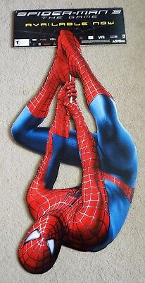 RARE PROMO One Piece Spider-Man 3 Movie Video Game Poster Display Standee 4 feet