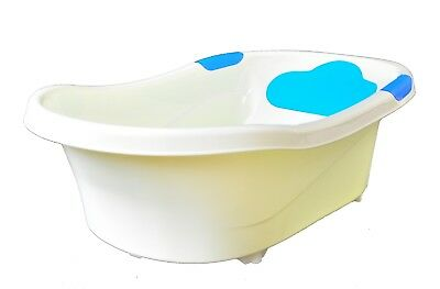 Baby Bath Tub, Infant Washing Newborn Toddler Bathtub Built-in Seat NEW