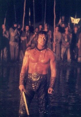 1997's KULL THE CONQUEROR Kevin Sorbo 3-7x10 color photo set