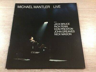 LP WATT Works WATT/18 Michael Mantler Live FOC INSERT GERMAN VINYL 1987