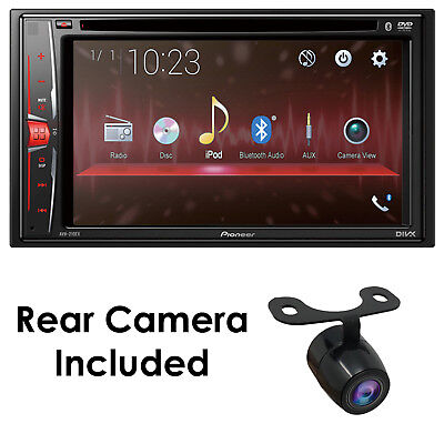 """New Pioneer AVH-210EX 6.2"""" DOUBLE DIN TOUCHSCREEN CAR STEREO DVD BLUETOOTH STERE"""