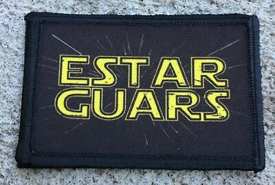 Estar Guars Morale Patch Tactical Military USA Hook Badge Army Flag Star Wars