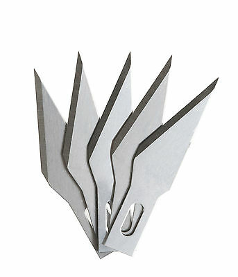 Spare craft blades for cutting / trimming 11mm 5 blades (PCK-11-BLADE)
