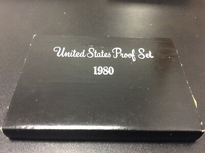 1980-s  U.S.Proof set. Genuine. complete and original as issued by US Mint.