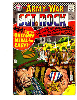 OUR ARMY AT WAR #178 in VF- grade 1967 DC WAR comic w/ SGT ROCK & Easy Co.