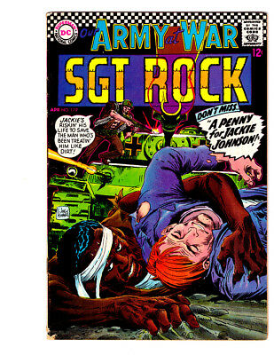 OUR ARMY AT WAR #179 in FN+ grade a 1967 DC WAR comic w/ SGT ROCK & Easy Co.
