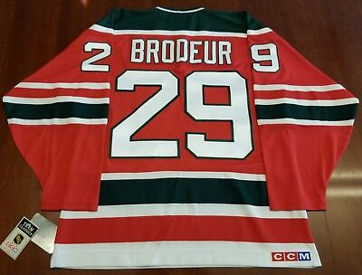 Marty Brodeur Vintage New Jersey Devils CCM NHL Jersey Christmas Tree df0c9ae0a