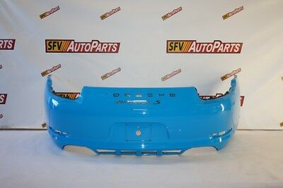 Porsche 911 Carrera S Rear Bumper 2013 2014 2015 2016 991 505 411 01 Blue Oem