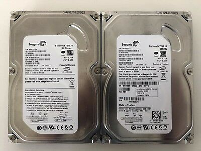 Lot Of 2 Seagate 80GB ST380815AS